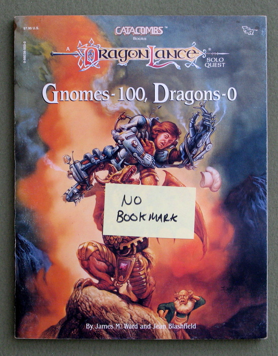 Image for Gnomes-100, Dragons-0 (Dragonlance: Catacombs Books) - MISSING BOOKMARK