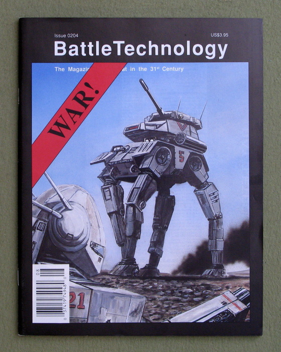 Image for BattleTechnology Magazine, Issue 0204 (Battletech)