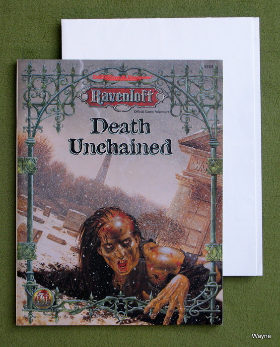 Image for Death Unchained (Advanced Dungeons & Dragons: Ravenloft Game Adventure)