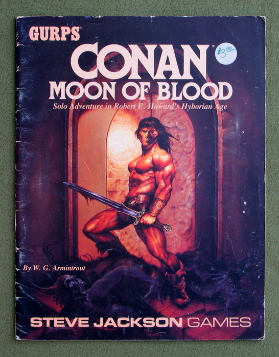 Image for Conan: Moon of Blood (GURPS) - PLAY COPY