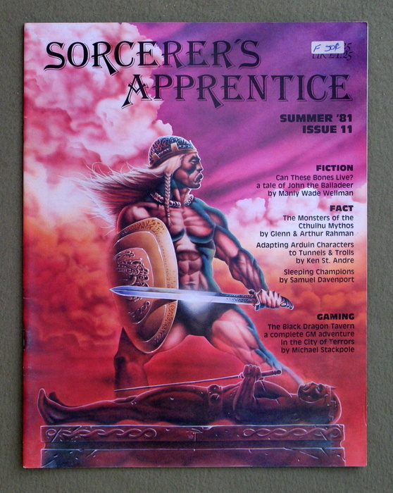 Image for Sorcerer's Apprentice Magazine, Issue 11