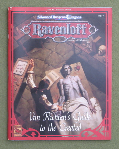 Image for Van Richten's Guide to the Created (Advanced Dungeons & Dragons: Ravenloft)