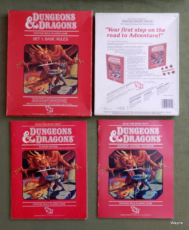 Image for Dungeons & Dragons Basic Rules, Set 1 - PLAY SET
