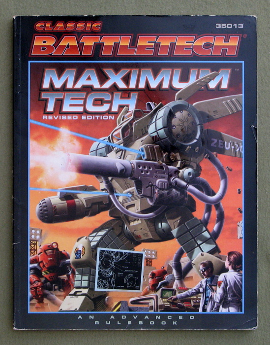Image for Maximum Tech, Revised Edition (Classic Battletech)