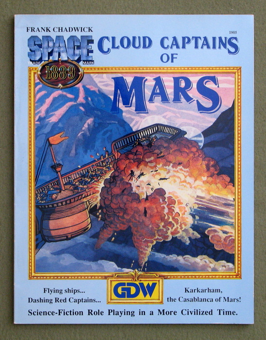 Image for Cloud Captains of Mars (Space 1889)