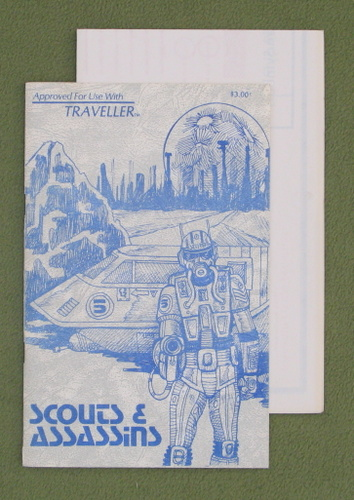 Image for Scouts & Assassins (Traveller RPG) - RARE EARLY PRINT