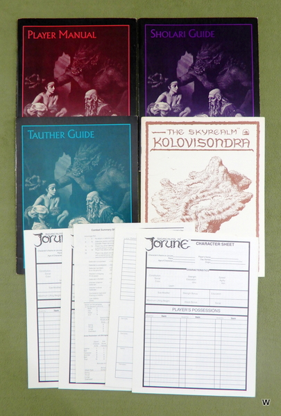 Image for Skyrealms of Jorune, 2nd edition - NO BOX