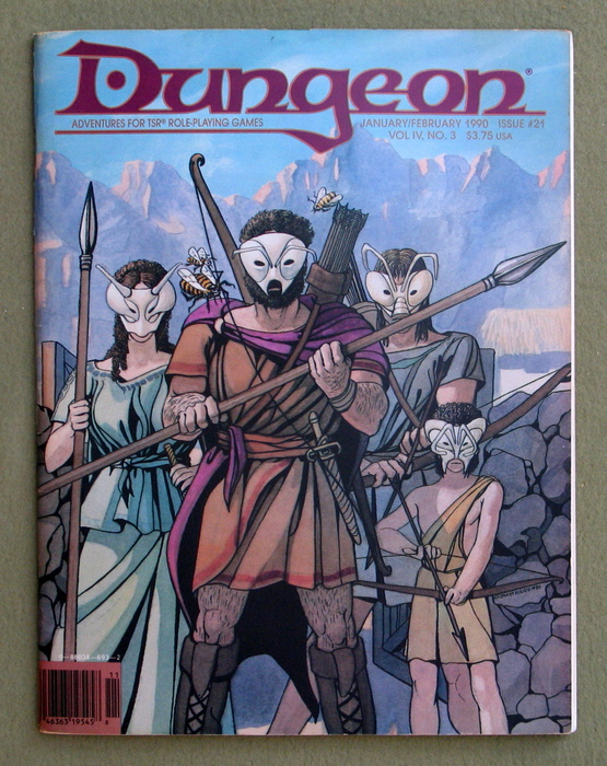 Image for Dungeon Magazine, Issue 21