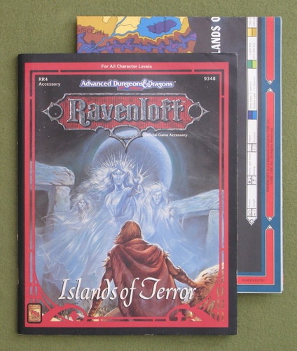 Image for Islands of Terror (Advanced Dungeons & Dragons: Ravenloft Accessory RR4)