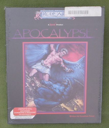 Image for Apocalypse: AD&D (Role Aids) Accessory