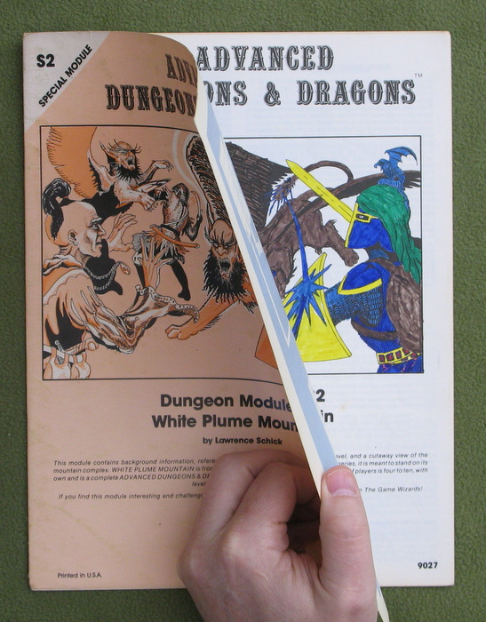 Image for White Plume Mountain (Advanced Dungeons & Dragons module S2) - COLORING