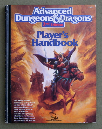 Image for Player's Handbook (Advanced Dungeons & Dragons, 2nd Edition) - PLAY COPY