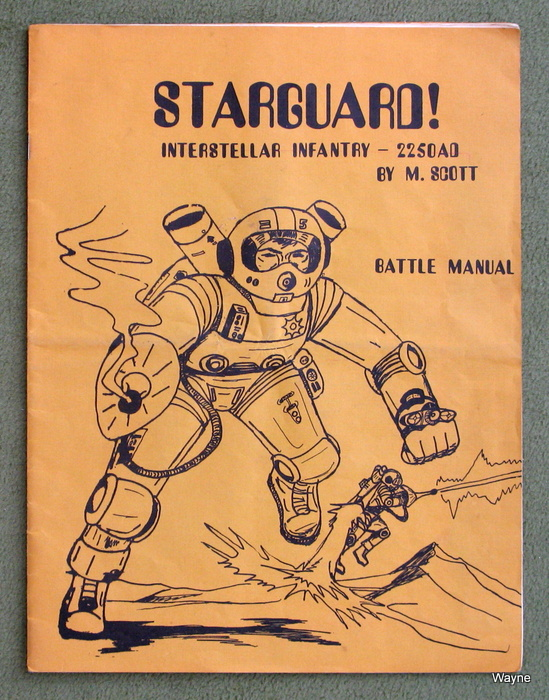 Image for Starguard! - Interstellar Infantry - 2250AD - Battle Manual (1st Edition)