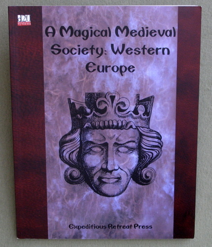 Image for A Magical Medieval Society: Western Europe, 1st Edition (D20 System)