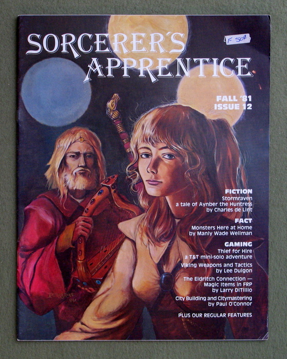 Image for Sorcerer's Apprentice Magazine, Issue 12