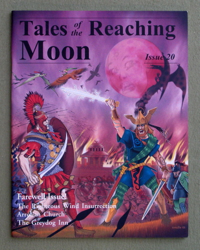 Image for Tales of the Reaching Moon, Issue 20 (Glorantha/Runequest)
