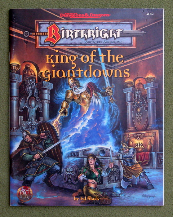 Image for King of the Giantdowns (Advanced Dungeons & Dragons : Birthright Adventure Accessory)