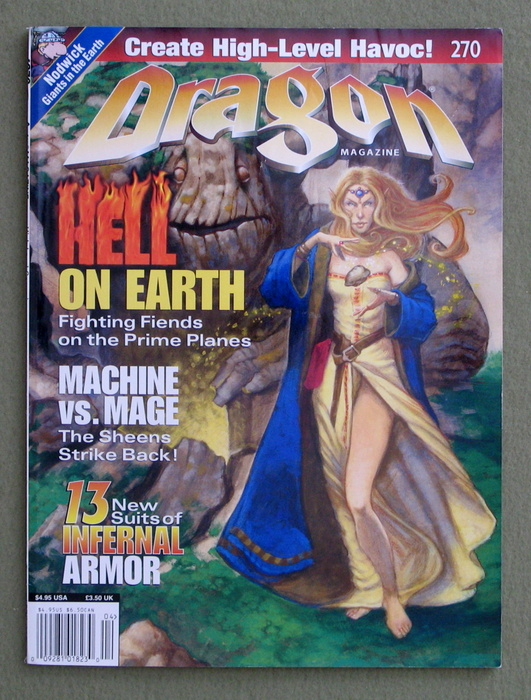 Image for Dragon Magazine, Issue 270