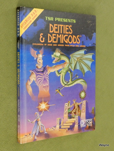 Image for Deities and Demigods: Cyclopedia of Gods and Heroes from Myth and Legend (Advanced Dungeons and Dragons)