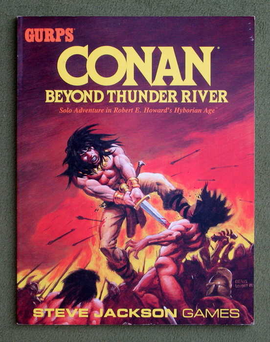 Image for Conan: Beyond Thunder River (GURPS)