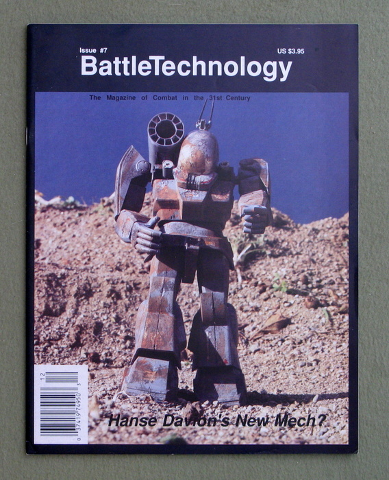 Image for BattleTechnology Magazine, Issue 7 (Battletech)