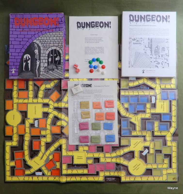 Image for Dungeon! (Classic 1975 TSR game)