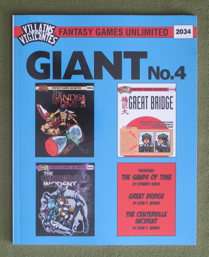 Image for Villains and Vigilantes: Giant No. 4