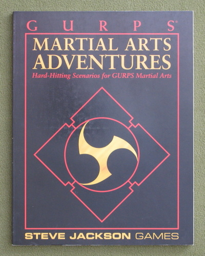 Image for GURPS Martial Arts Adventures: Hard-Hitting Scenarios for GURPS Martial Arts