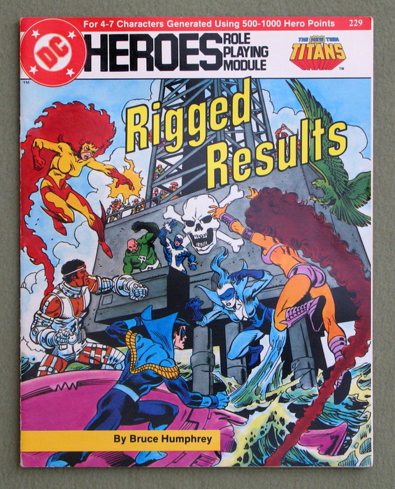 Image for Rigged Results (DC Heroes RPG)