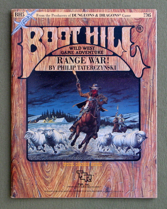 Image for Range War! (Boot Hill Module BH5)
