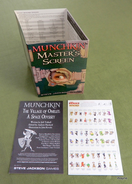 Image for Munchkin Masters Screen