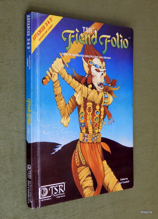Image for Fiend Folio: Tome of Creatures Malevolent and Benign (Advanced Dungeons and Dragons) - PLAY COPY