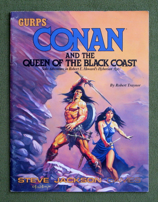 Image for Conan and the Queen of the Black Coast (GURPS)