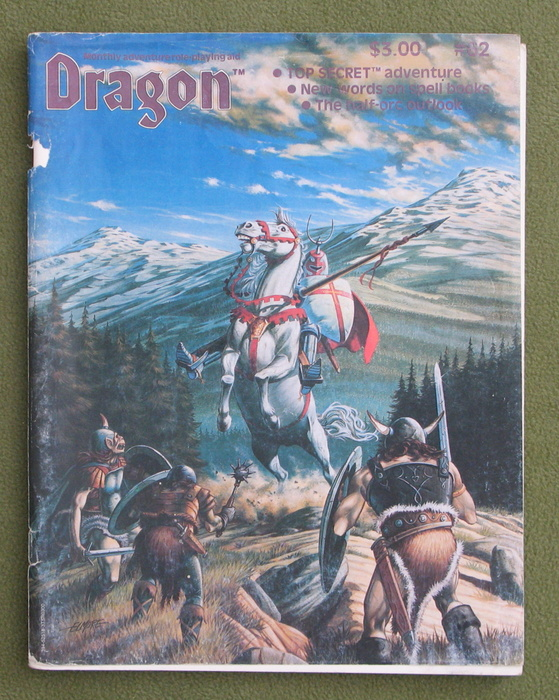 Image for Dragon Magazine, Issue 62 - COVER LOOSE