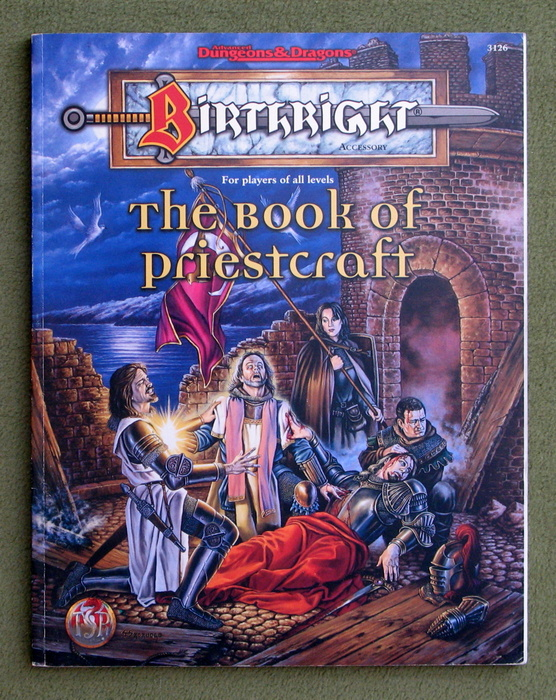 Image for The Book of Priestcraft (Advanced Dungeons & Dragons - Birthright Accessory)