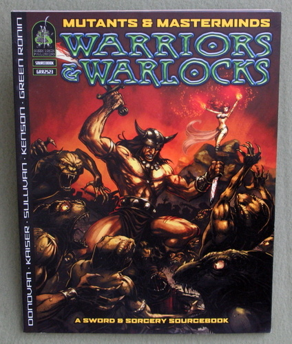 Image for Warriors & Warlocks: A Sword & Sorcery Supplement (Mutants & Masterminds)