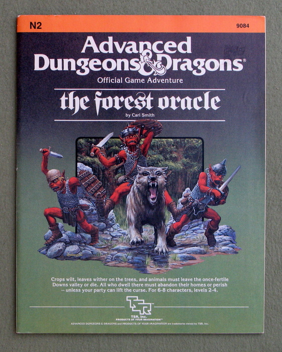 Image for The Forest Oracle (Advanced Dungeons & Dragons Module N2)