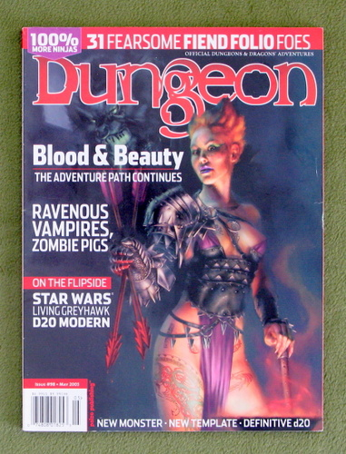 Image for Dungeon Magazine, Issue 98