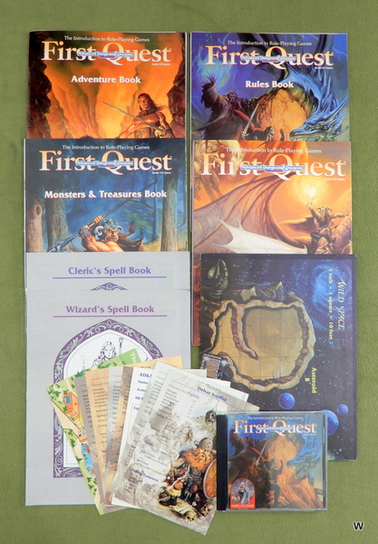 Image for First Quest: Introduction to AD&D, 2nd Editon - NO BOX OR FIGURES