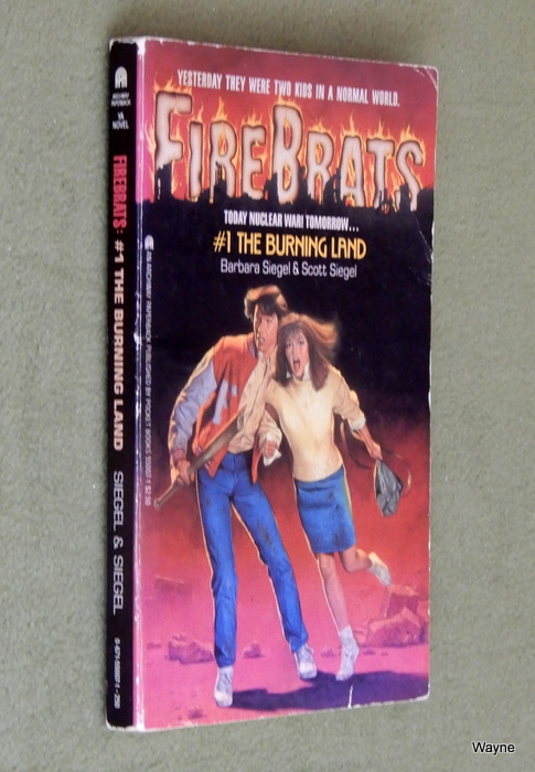 Image for The Burning Land (Firebrats, No 1)