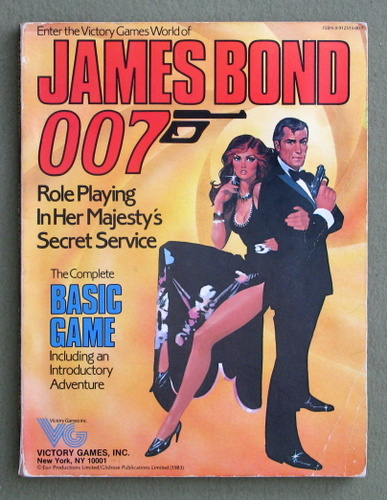 Image for James Bond 007 - Basic Game (book) - PLAY COPY