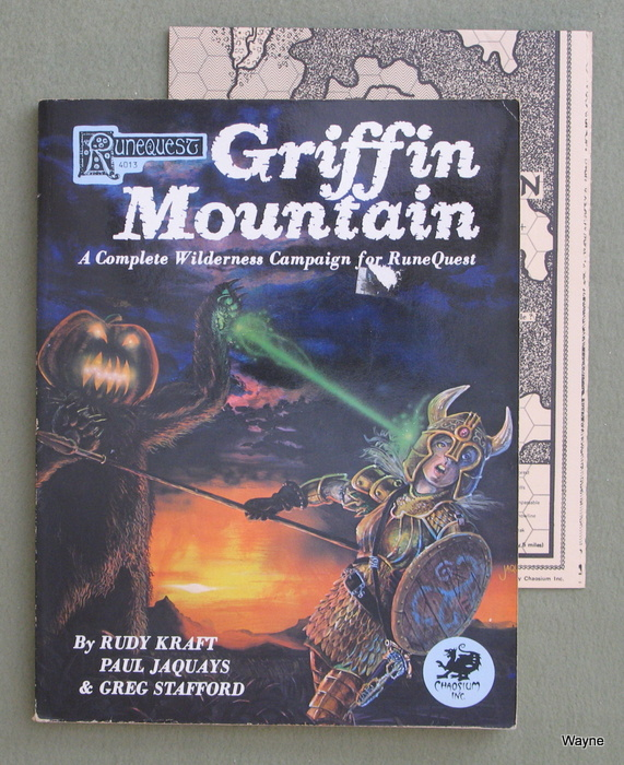 Image for Griffin Mountain: A Complete Wilderness Campaign for RuneQuest