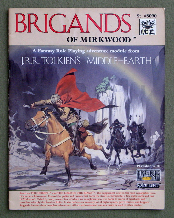 Image for Brigands of Mirkwood (Middle Earth Role Playing/MERP)