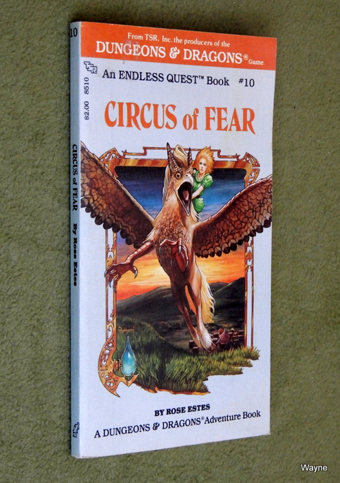 Image for Circus of Fear (Endless Quest Book 10: Dungeons & Dragons)
