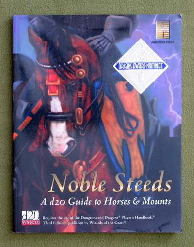 Image for Noble Steeds: A d20 Guide to Horses & Mounts