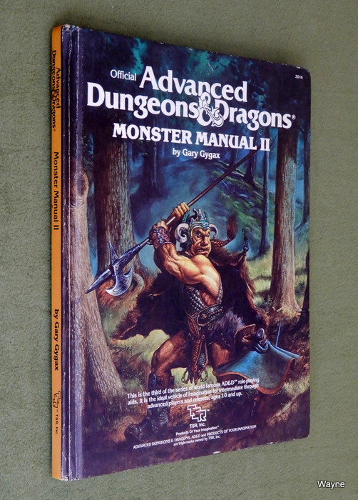 Image for Monster Manual II [2] (Advanced Dungeons & Dragons) - PLAY COPY
