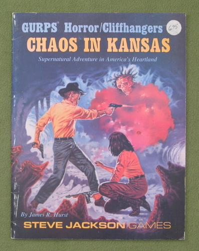 Image for Chaos In Kansas (GURPS Horror / Cliffhangers)