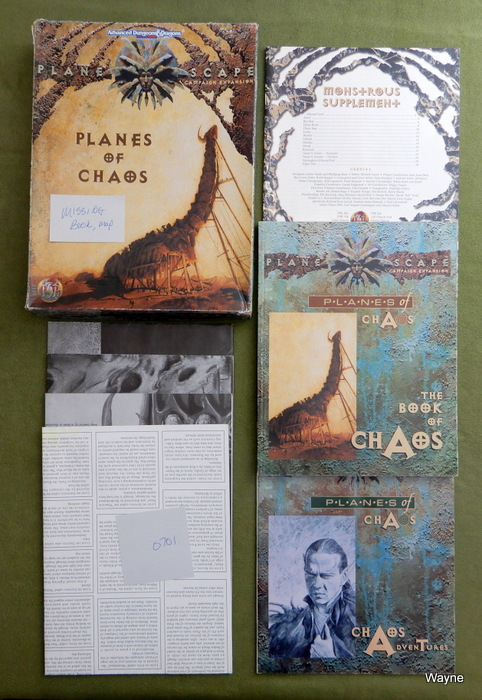 Image for Planes of Chaos (AD&D: Planescape) - INCOMPLETE