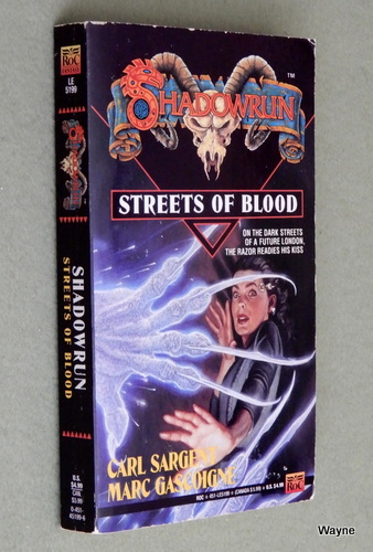 Image for Streets of Blood (Shadowrun #8)