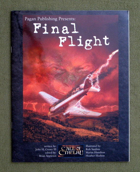 Image for Final Flight (Call of Cthulhu)